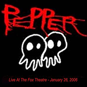 Live at the Fox Theatre - Boulder, Co