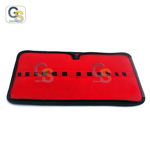 G.S Zipper Carrying CASE for 12 Items - Dental Instruments & Tools Best Quality