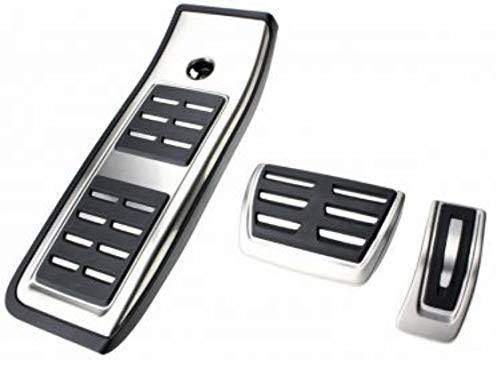 FFZ Parts Pedales tapas de acero inoxidable apto para A4 B8 A5...