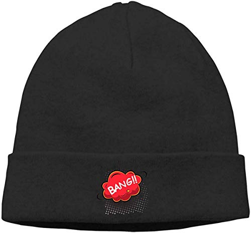 sdkjfg Gorro de Calavera para Adultos Gorro Prohibido Cazar Tiburones Sombrero de Punto Sombreros Invierno cálido Hip-Hop Sombrero de Moda 167