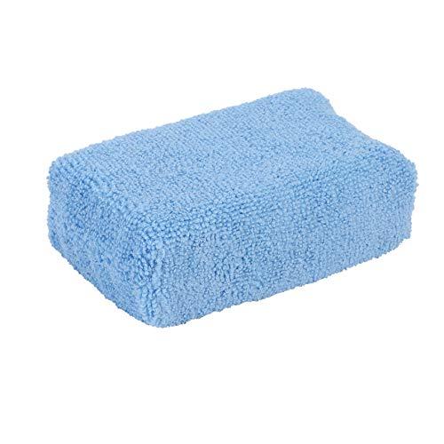 Uniqal Almohadillas aplicadoras de cera – Pack 0f 10 esponjas de limpieza de coche lavables almohadillas de aplicación de espuma suave para polaco ()