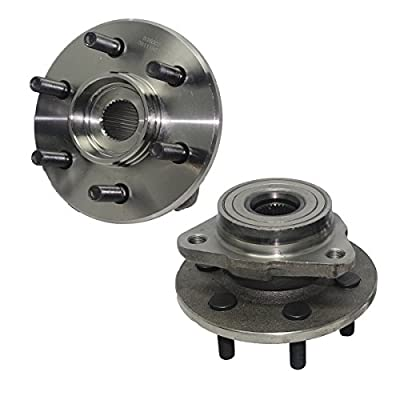 DETROIT AXLE - Front Wheel Hub and Bearing Assembly - Driver and Passenger Side fits 4x4 Only No ABS - 1997-2004 Dodge Dakota - [98-03 Dodge Durango]