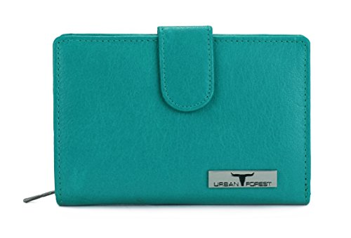 Urban Forest Tina Light Blue Womens Leather Wallet