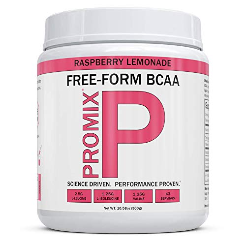 BCAA Powder Amino Acid Energy Branched Chain I Vegan Keto Paleo Instantized Essential Fermented I Non GMO Gluten + Soy Free Form Fasting I 100% Pure Performance Promix Women, Raspberry Lemonade Flavor