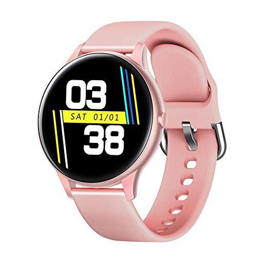 LHY Reloj Inteligente, con Pantalla Táctil A Color De 1.3 '', Rastreador De Ejercicios, Monitor De Frecuencia Cardíaca, Monitor De Oxígeno Y Presión Arterial, Adecuado para Hombres Y Mujeres,3