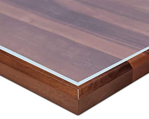 Ertex Tischdecke Tischfolie Schutzfolie Tischschutz Folie Matt/Carbon Folie 2,5 mm 1A Qualität geeignet für den Kontakt mit Lebensmitteln (80 x 120 cm)