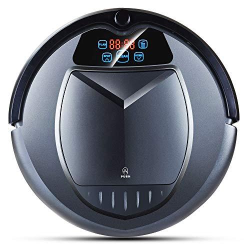 Robotstofzuiger voor thuis, multifunctionele robotstofzuiger, tijdschema, virtual blokker, zelfladen, afstandsbediening, energiebesparend