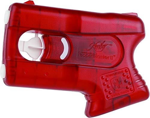 kimber Self Defense Less-Lethal PepperBlaster II; Pepper Spray Gun (Red)