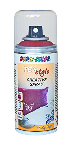 Dupli-Color 319884 Textilspray rot 150 ml