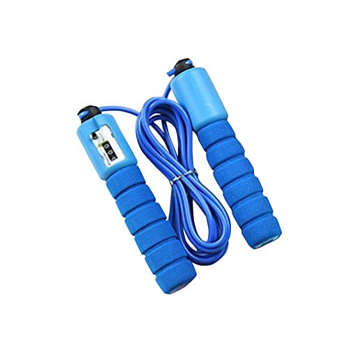 Scelet Counting Jump Rope Adult Skipping Rope Adjustable Jump Rope with Counter, Outside Workout Home Workouts Crossfit excersize Jump Rope Counter