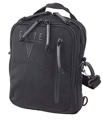 Elite Survival Systems Avenger GunPack - Gen 2, Concealed Carry Waist/Shoulder Pack (Black)