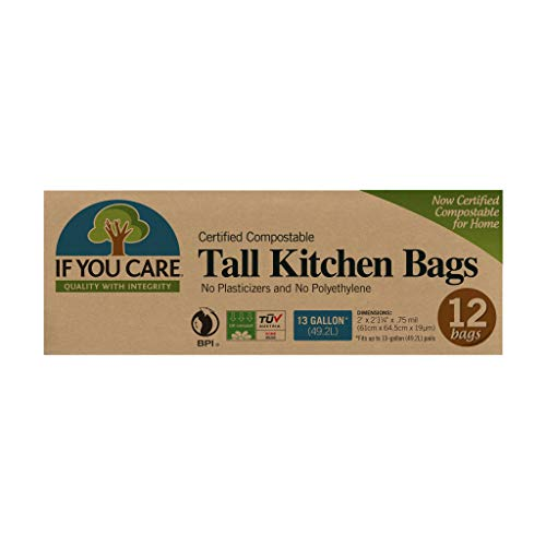 If You Care Tall Kitchen Bags, 13 gal, 12 Count