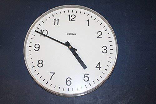 vintage13.de Wanduhr Uhr Bahnhofsuhr Fabrikuhr K3002-A400 Durchmesser 32 cm