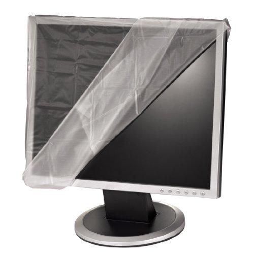 Hama Antistatische stofkap met LCD-scherm, LCD-monitor für 19-21 Zoll transparant
