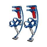 Saltar Zancos Zancos Recreativos Unisex, Zancos Portátiles para Saltar Al Aire Libre, Zapatos De Rebote para Entretenimiento Y Fitness(Size:30 50 KG)