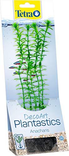 Tetra Deco Art Plant Anacharis, Artificiale Acquario pianta, Vera aussehende sotto Acqua Piante, Verde