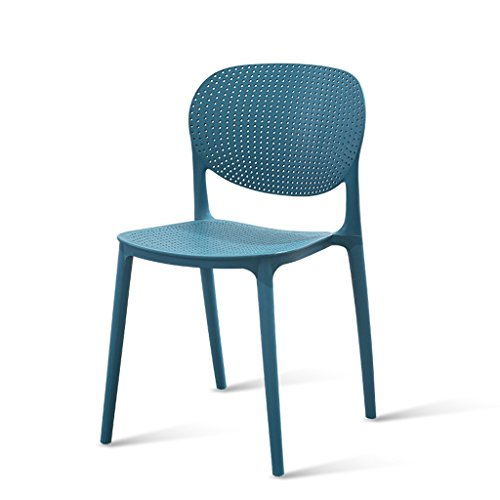PLL uithalen rugleuning stoelen huishouden eettafels stoelen stijlvolle casual cafe stoelen eenvoudige verdikking kunststof kruk