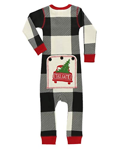 Baby Flapjack Onsie by LazyOne | Adult Kid Infant Dog Family Matching Pajamas (Tailgate, 6 Months)