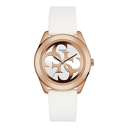 Guess Damen Analog Uhr G-Twist mit Silikonband