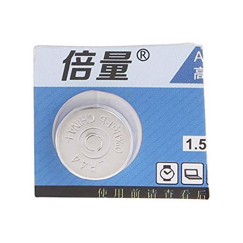 Qiulip LR44 - Pila alcalina de botón (1,5 V, A76, 303, 357, L1154, AG13, SR44, 1 Pieza, EXP 2021)