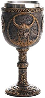Pacific Giftware Norse Mythology Trickster God Loki Wine Goblet Chalice Cup 7oz