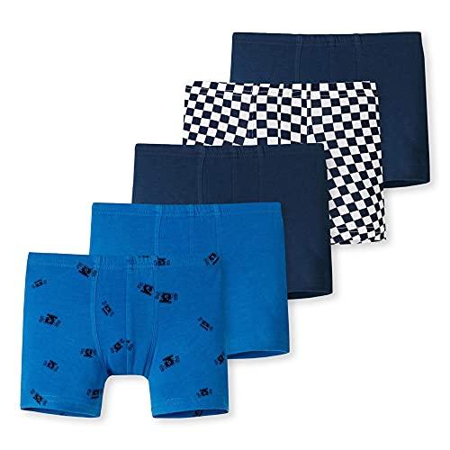 Schiesser Jungen Unterhosen 5 Pack Unterwäsche, Sortiert 1, 116