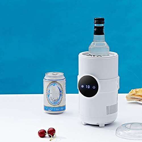 LLAMN LED 5 ° C ~ 55 ° C Multi-Fonction Boissons/Eau Rapide Bureau Réfrigération Chauffage Coupe 500ml Portable Tasse Congélateur Maison
