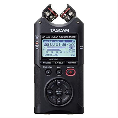 Tascam DR-40X ha aggiornato il registratore vocale digitale portatile DR-40 registratore PCM lineare con penna di registrazione professionale