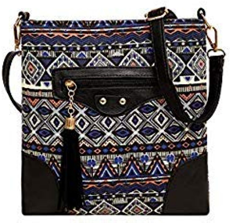 Bloomerang 2018 Summer Bag Small Shoulder Bag Women Female Canvas Handbag Bags Mini Flap Shoulder Handbags Ladies Cross Body Messenger Bags color blueee Size ZD0019
