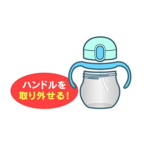 サーモス ベビーストローマグ ライトピンク NPD-350 LP 1コ入