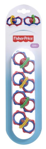 Fisher-Price Silicone Child Soothers (6+ Months 4-Pack)