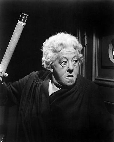 Moviestore Margaret Rutherford als Miss Marple in Murder She Said 50x40cm Schwarzweiß-Foto
