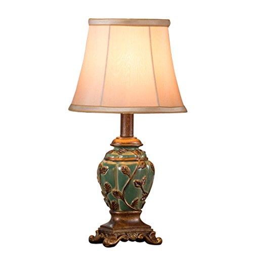 Bonne chose lampe de table Lampe de table européenne chambre à coucher lit chaud et romantique américain rural créative lampe méditerranéenne
