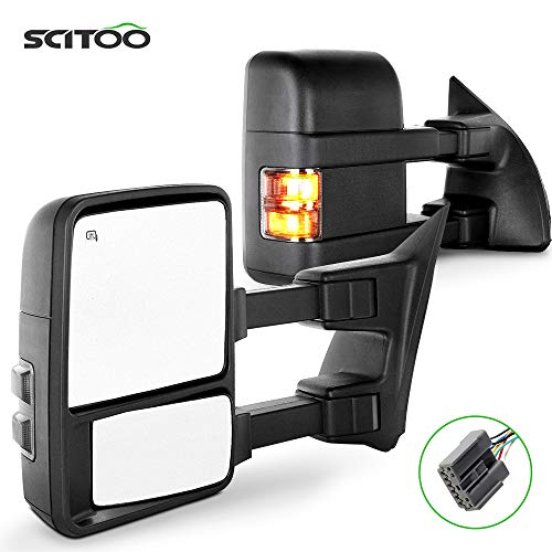 SCITOO Towing Mirrors fit for Ford Exterior Accessories Mirrors fit for Ford...
