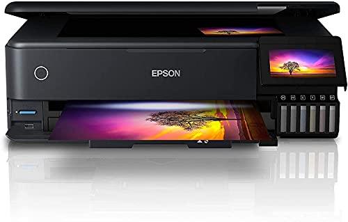 Epson EcoTank ET-8550 A3 Print/Scan/Copy Wi-Fi Photo Printer, Black