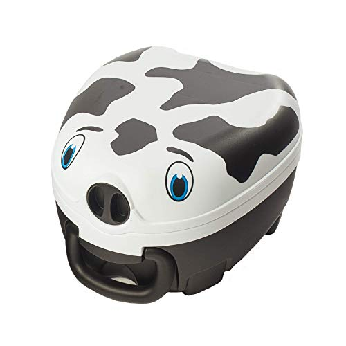 My Carry Potty - Cow Travel Potty, Award-Winning Portable Toddler Toilet...