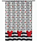 Jumping Beans Mickey Mouse Small Polka Dot Shower Curtain