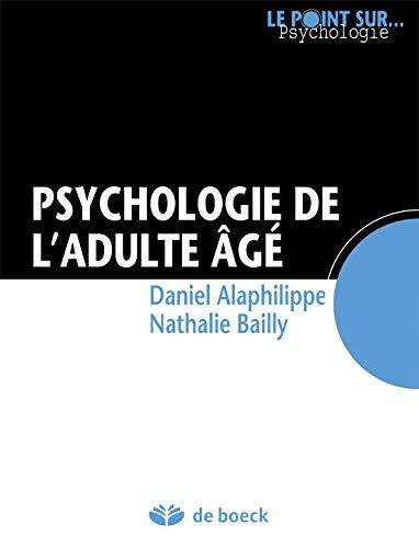Psychologie de l'adulte âgé