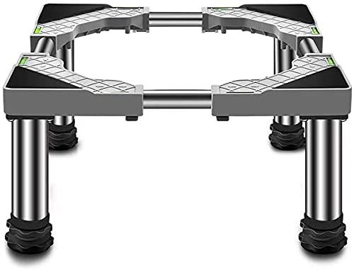 Base Lavadora Soporte de estante para refrigerador Altura 19-22 cm Lavadora Pedestales y marcos Durable Lavadora Secadora Soportes Pedestales y marcos para un recipiente de planta grande Para secadora