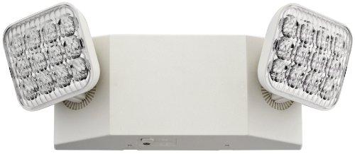 Lithonia Lighting EU2 LED 2-Light White LED Emergency Fixture with 90 Minute Back Up