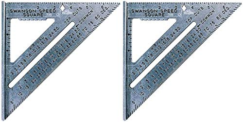 Swanson Tool Co S0101 7-inch Speed Square Layout...