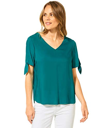Cecil Damen 342019 Bluse, vital Emerald Green, XX-Large