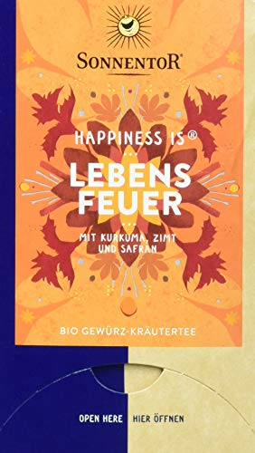 Sonnentor Bio Lebensfeuer Tee Happiness is (1 x 31 g)