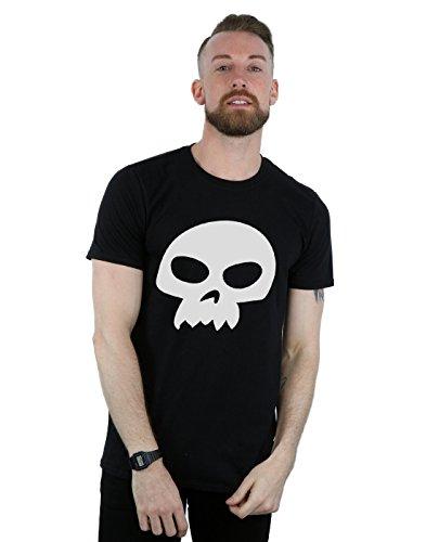 Disney hombre Toy Story Sid's Skull Camiseta XXX-Large Negro
