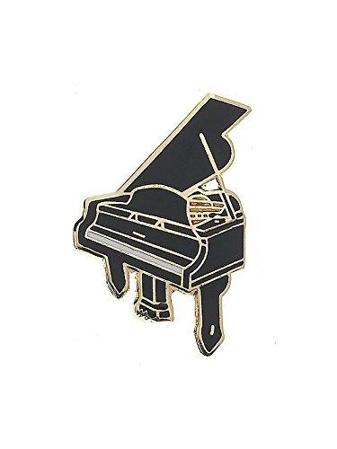 Mini Pin: Grand Piano (zwart). Voor gitaar