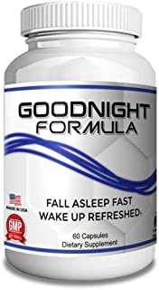 Boomer Goodnight Formula Sleep Aid to Activate Progressive Relaxation - Natural Sleep Aids for Adults Extra Strength - Non...