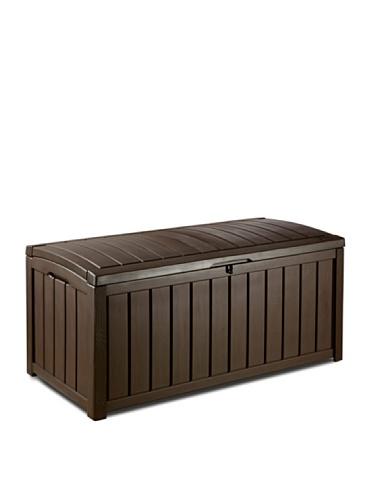 KETER Glenwood – Coffre, Couleur Marron Chocolat