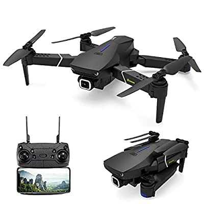 EACHINE E520S GPS Drone with 4k HD Camera for Adults, 5G WIFI FPV Live Video Foldable Drone with GPS Return Home, 250m FPV Distance, Follow Me, Drone Quadcopter for Beginners