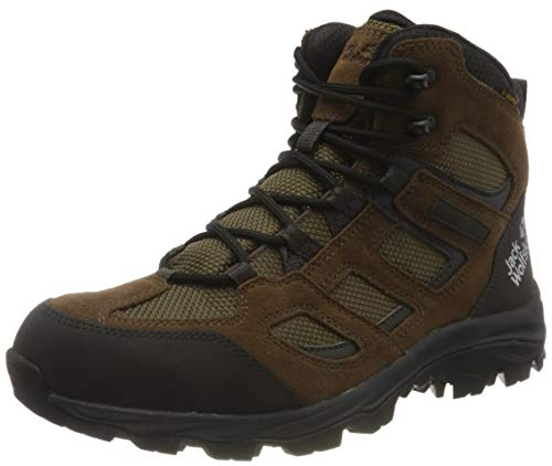 Jack Wolfskin Herren Vojo 3 Texapore MID M Outdoorschuhe, Brown/Phantom, 45 EU