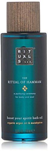 RITUALS The Ritual of Hammam Bath Oil Organic Argan Oil & Eucalyptus, 100 ml